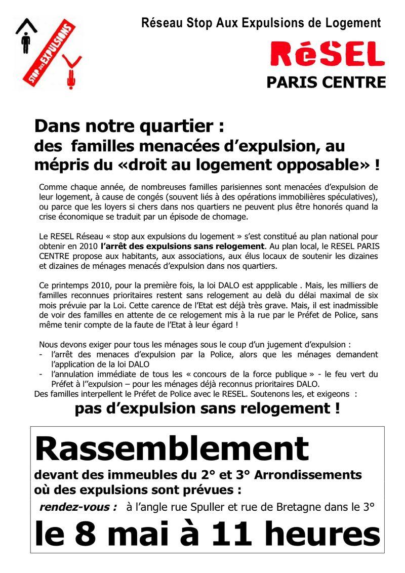 Tract Résel Centre 8 mai